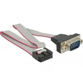 delock-89900-cable-de-serie-gris-025-m-rs-232-db9-9-pin-com