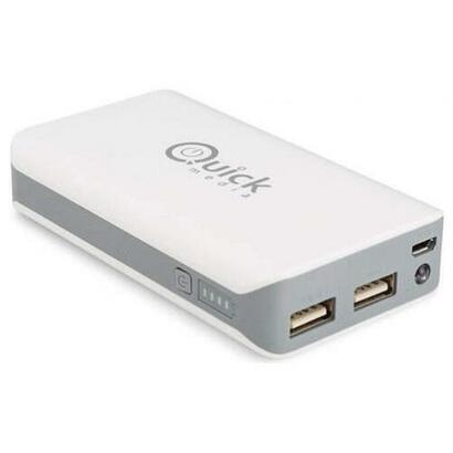 quickmedia-pb80-8000-mah-cargador-portatil-ipad-qmpb80w-quick-media-qmpb80w-blanco-universal-8000-mah-usb-micro-usb