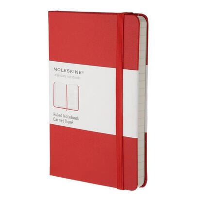 moleskine-classic-cuaderno-y-block-rojo-240-hojas