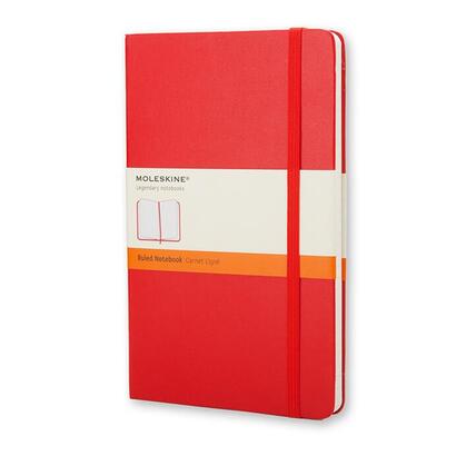 moleskine-notebook-bolsillo-de-rayas-tapa-dura-rojo-moleskine-notebook-pocket-ruled-red-hard-cover