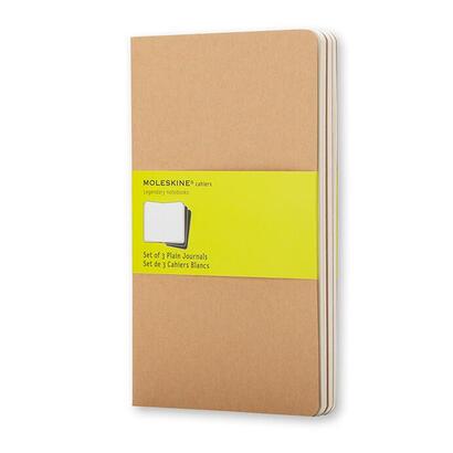 moleskine-cahier-journal-de-bolsillo-liso-marron-kraft-moleskine-cahier-journal-pocket-kraft-brown-plain