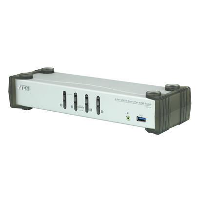 aten-desktop-kvm-4-port-usb-31-gen-1-displayport-11-kvmp-aten-cs1914-usb-usb-displayport-usb-a-usb-tipo-a-usb-tipo-b-30-31-gen-1