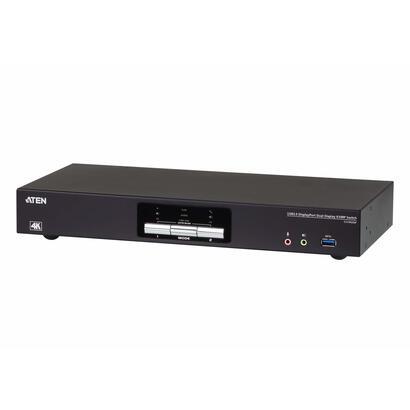 aten-desktop-kvm-2p-usb30-displayport-dual-view-kvmp-sw-cs-aten-cs1942dp-4k-ultra-hd-4096-x-2160-pixeles-60-hz-usb-usb-displaypo