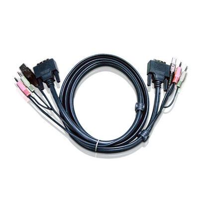 aten-dvi-i-usb-kvm-cable-3m-2l-7d03ui-aten-2l7d03ui-dvi-i-dvi-i-usb-a-2x35mm-dvi-i-usb-a-2x35mm-machomacho-negro-cn8600-cs1182-c