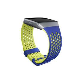 fitbit-sport-bandmuequera-de-relojgrandecobalto-y-limapara-fitbit-ionic