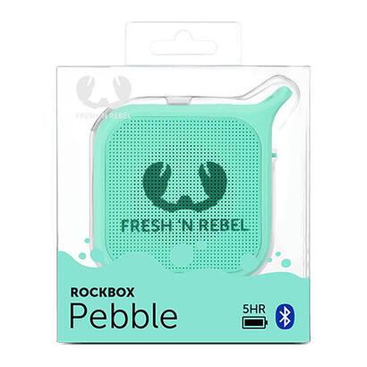 fresh-n-rebel-rockbox-pebblealtavozpara-uso-porttilinalmbricobluetoothmenta