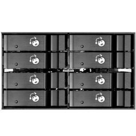 silverstone-f208b-frontal-de-525-negro-para-8-discos-duros-sata-25