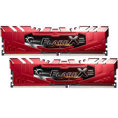 memoria-gskill-flarex-ddr4-2400-pc4-19200-32gb-2x16gb-cl15-roja