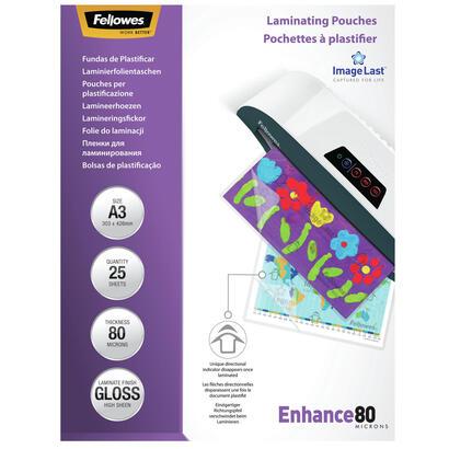 fellowes-pack-25-fundas-de-plastificar-brillo-a3-80-micras