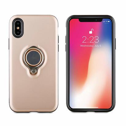 muvit-ring-magnetica-funda-rosa-oro-para-apple-iphone-x