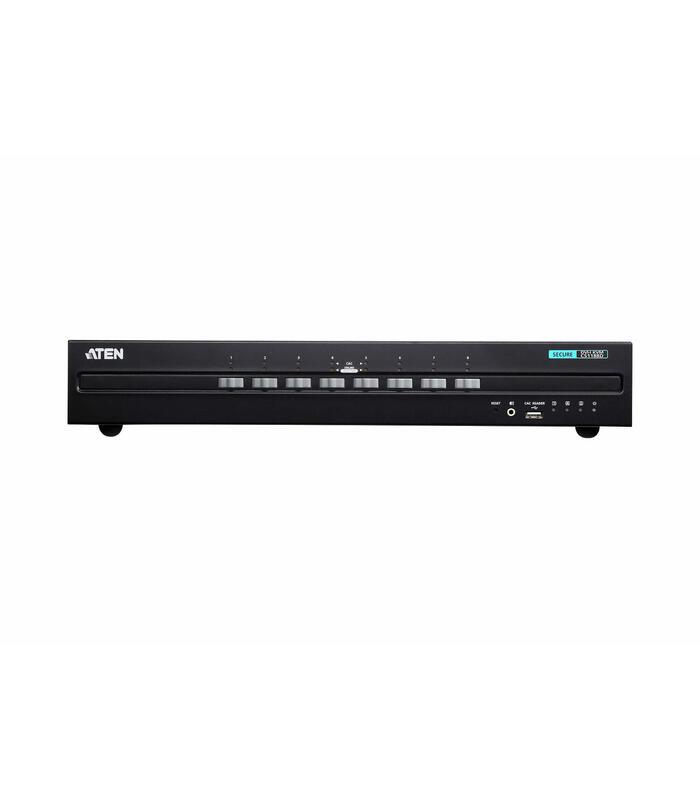 conmutador-kvm-seguro-8-port-usb-dvi-secure-kvm-switch-aten-aten-kvm-seguro-8-port-usb-dvi-secure-kvm-switch-cs1188d-at-g
