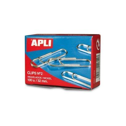 caja-de-100-unidades-de-clips-plateados-aplin2-32mm