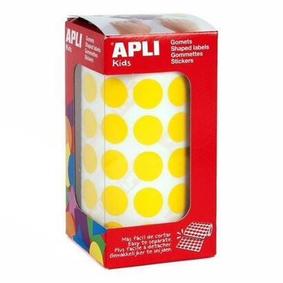 gomets-circulares-color-amarillo-en-estuche-apli-4855o-15mm2832-unidades