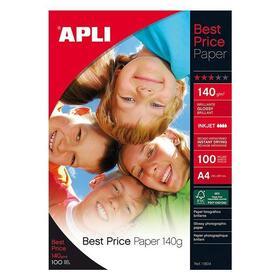 papel-fotografico-apli-11804-best-price-140gglossy100-hojas-a4
