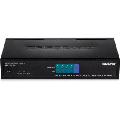 trendnet-tpe-tg50es-switch-gestionado-gigabit-ethernet-101001000-negro-energia-sobre-ethernet-poe