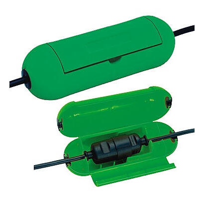 brennenstuhl-1160400-protector-de-cable-verde