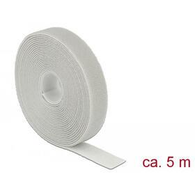 delock-cinta-de-velcro-en-rollo-l-5m-w-20-mm-gris