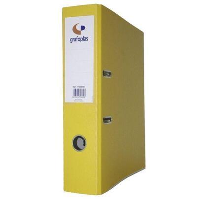 archivador-con-palanca-de-45mm-grafcolor-amarillo-din-a4-carton-de-2-mm-forrado-en-pp-grafoplas