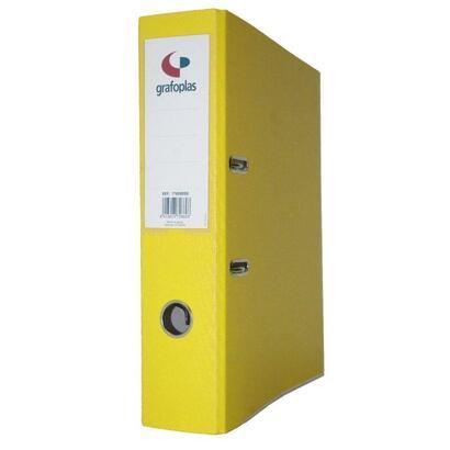 archivador-con-palanca-de-65mm-grafcolor-amarillo-din-a4-carton-de-25-mm-forrado-en-pp-grafoplas