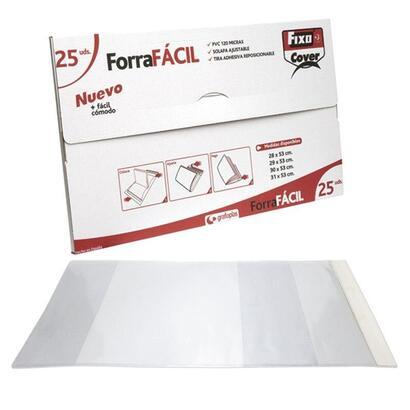 25-unidades-forro-libro-ajustable-220x430-pvc-transparente-forrafacil-fixo-grafoplas