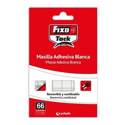 masilla-adhesiva-blanca-grafoplas-00020900-fixo-tack-66-pastillas-de-11cm-removible-y-reutilizable-para-uso-escolar-oficina-deco