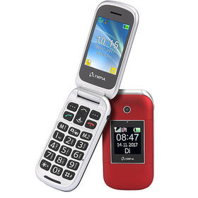 olympia-janus-61-cm-24-90-g-rojo-telefono-con-camara