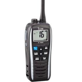 vhf-portatil-icom-ic-m25-euro-blanca-bandas-laterales-proteccion-ipx7-flota-y-parpadea-bateria-de-litio-1500mah-11h-autonomia-co