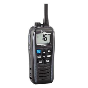 vhf-portatil-icom-ic-m25-euro-gris-bandas-laterales-proteccion-ipx7-flota-y-parpadea-bateria-de-litio-1500mah-11h-autonomia-cone