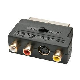 lindy-35628-adaptador-de-cable-scart-svhs-3x-rca-negro