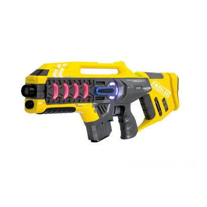 juego-de-rifle-de-pistola-laser-de-impulso-juego-de-habilidad-amarillo-rojo