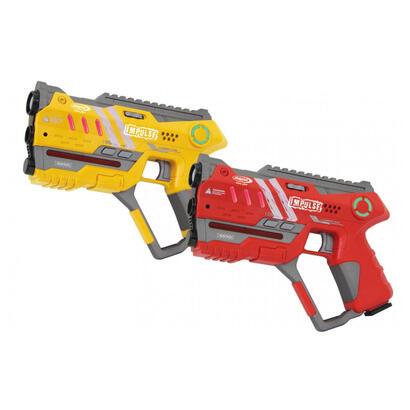 jamara-impulse-laser-gun-pistol-set-gelbrot