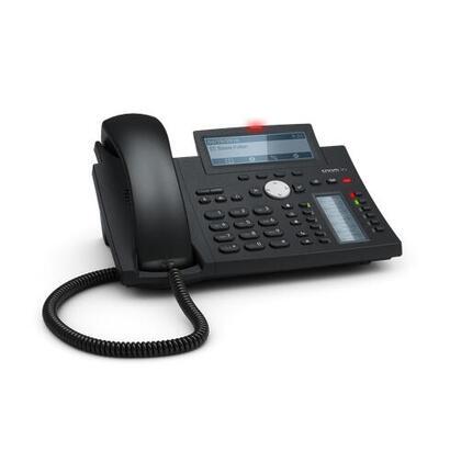 snom-d345-telefono-ip-negro-azul-terminal-con-conexion-por-cable