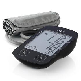 tensiometro-de-brazo-laica-bm2604-negro-pantalla-lcd-8774cm-mide-presion-arterialfrecuencia-cardiaca-brazalete-estandar-estuche-