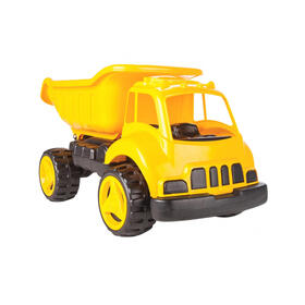 jamara-sandkastenauto-dump-truck-xl-amarillo