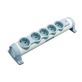 regleta-confort-legrand-694632-5x2pt-tomas-de-corriente-orientables-cable-de-3-metros-blanco