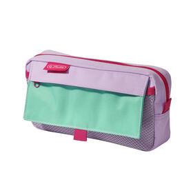 herlitz-50022038-caja-de-lapices-estuche-suave-poliester-color-menta-purpura