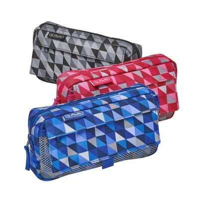 herlitz-50022045-caja-de-lapices-estuche-suave-poliester-negro-gris