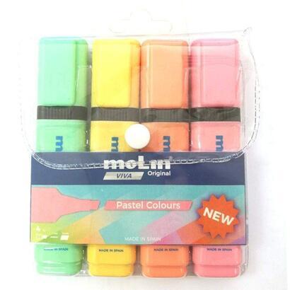 paquete-4-marcadores-fluorescentes-molin-colores-pastel-surtidos