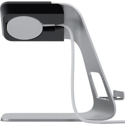 goobay-62116-accesorio-de-relojes-inteligentes-soporte-de-recarga-plata-aluminio