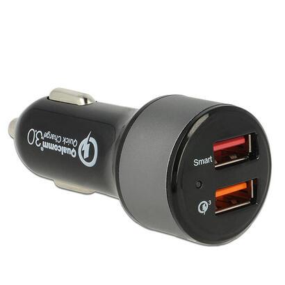 navilock-62739-cargador-de-dispositivo-movil-auto-negro