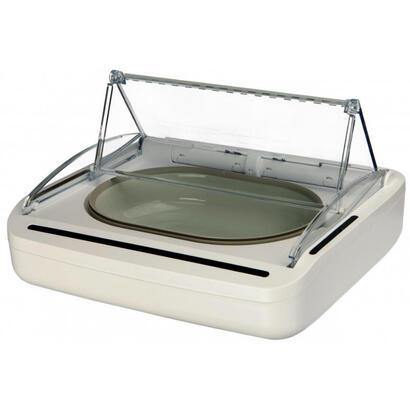 trixie-surefeed-comedero-automatico-para-mascotas-de-plastico-blanco-perro