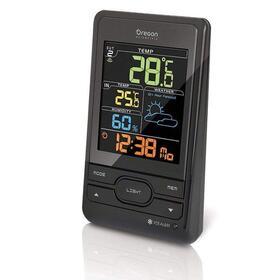 estacion-meteorologica-oregon-bar-206-sx-negra-pantalla-lcd-reloj-radio-controlado-3-canales-wireless-sensor-remoto-hasta-30m-al