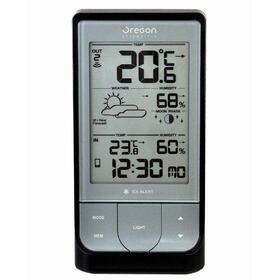 estacion-meteorologica-oregon-bar-218-hgx-silver-black-pantalla-retroiluminada-led-temp-exterior-interior-facil-conexion-bluetoo