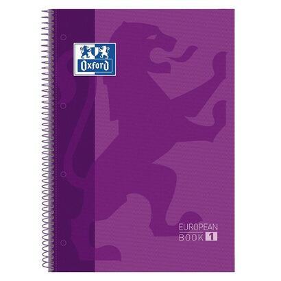 libreta-oxford-europeanbook-1-morado-a4-tapa-extradura-80-hojas-rayado-cuadricula-55-90gr