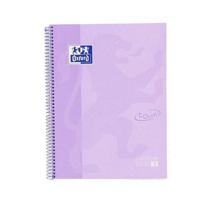 libreta-oxford-europeanbook-1-malva-pastel-a4-tapa-extradura-80-hojas-rayado-cuadricula-55-90gr