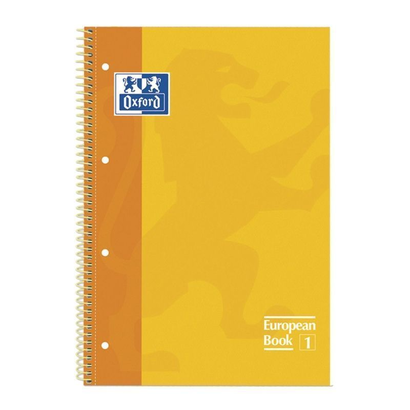 libreta-oxford-espiral-a4-amarillo-tapa-extradura-80-hojas-4-taladros-cuadricula-5x5-90gr