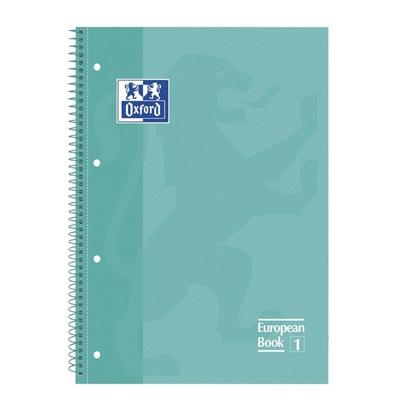 libreta-oxford-espiral-a4-verde-menta-tapa-extradura-80-hojas-4-taladros-cuadricula-5x5-90gr