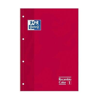 recambio-oxford-cuaderno-a4-rojo-80-hojas-4-taladros-cuadricula-55