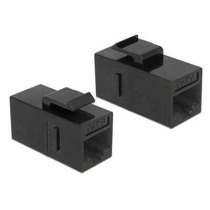 delock-86381-modulo-keystone-rj45-rj45-cat6a-negro