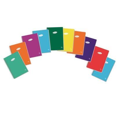 paquete-10-libretas-espiral-80-hojas-tamano-12-cuadricula-4mm-cubierta-carton-plastificado-400-grs-colores-surtidos-papel-blanco